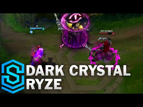 Dark Crystal Ryze (2016) Skin Spotlight - League of Legends