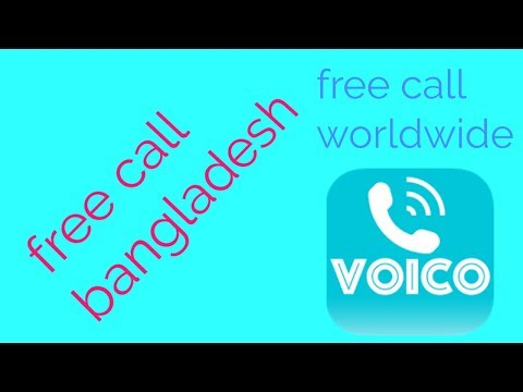 Voico ।  free call bangladesh । earn credits and call worldwide. Free calling apps review ।