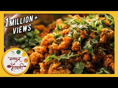 Zunka - झुणका | Authentic Maharashtrian Recipe by Archana | Easy Spicy Main Course in Marathi