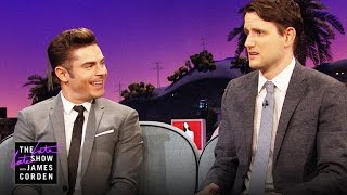 Two Zachs, One Couch (w/ Zach Woods & Zac Efron)