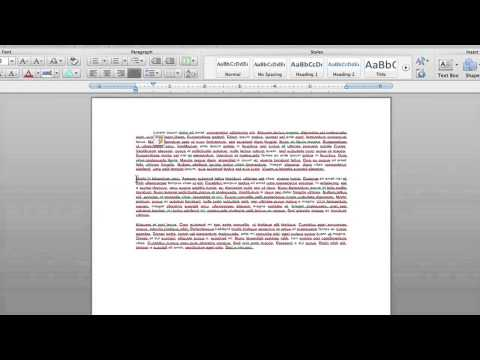 How to Indent a Single Line in Microsoft Word 2010 : Microsoft Word Help