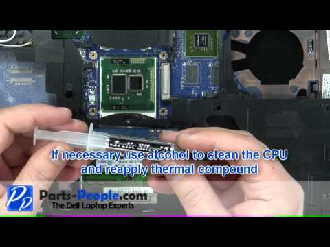 Dell Latitude E6420 CPU Processor Replacement Video Tutorial