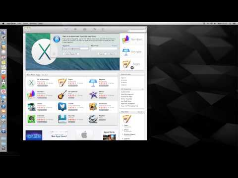 How To - Sign In/Off appstore on Mac OS X 10.9 Mavericks