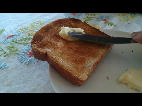 how to make toast and butter