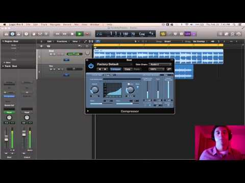Logic Pro X - Tips & Tricks #13 (Ducking with a Sidechained Compressor)