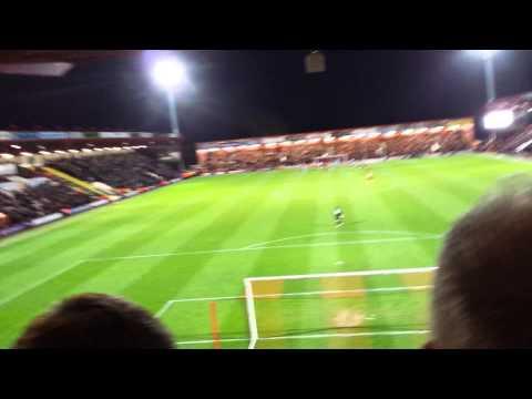 Yann kermorgant song AFC Bournemouth vs reading