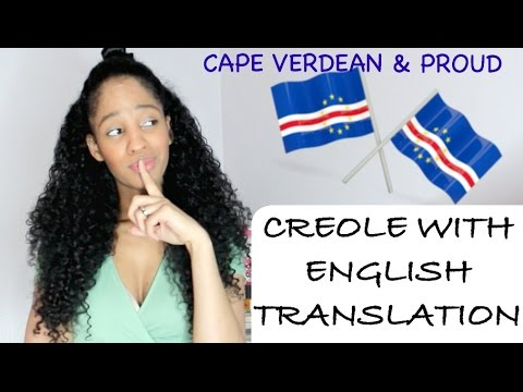 WHOLE VIDEO IN MY NATIVE LANGUAGE (Cape Verdean Creole) WITH ENGLISH TRANSLATION - GRWM