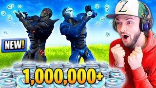 *NEW* 1,000,000 V-BUCKS PRIZE in Fortnite: Battle Royale!