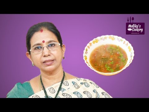 VENDHAYA RASAM : Mallika Badrinath Recipes | Fenugreek Seeds Soup