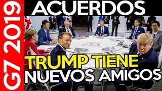 RESUMEN DE LA CUMBRE DEL G7 2019: TRUMP Y JOHNSON, ACUERDO EEUU Y JAPÓN, ACUERDO NUCLEAR Y MERCOSUR