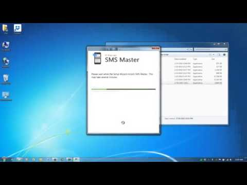 How To Install SMS Master Marketing Software