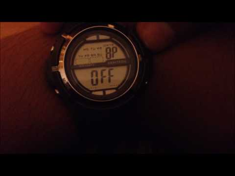 Tutorial  | Toggle/Disable Beeping on an Armitron Watch |