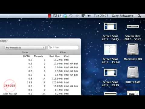 Freeing Up Memory on a Mac OS X