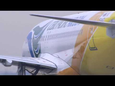 Cebu Pacific's first A320 Sharklet