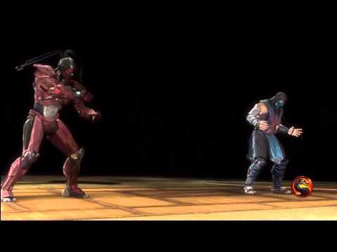 [HD] MK9 Sektor Scarecrow Fatality.