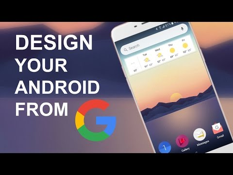 Design Your Android Homescreen From Google