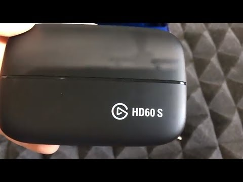 Elgato HD60S USB 3.0 Game Capture Unboxing