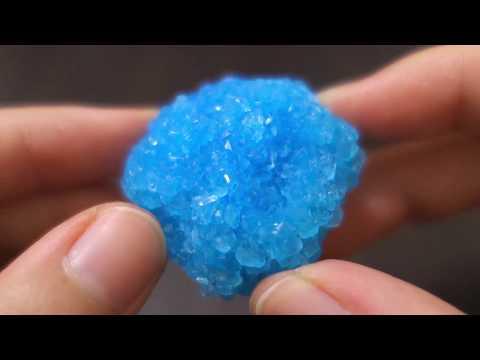 붕사로 크리스탈 만들기 Borax Crystals
