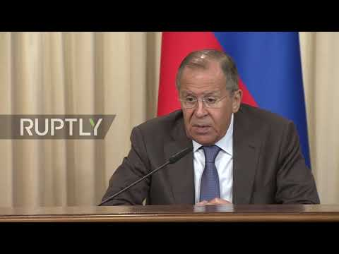 Russia: Lavrov criticises Ukraine raids on Russian state media outlet