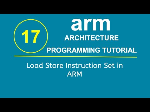 ARM Programming Tutorial 17- Load Store Instruction Set in ARM