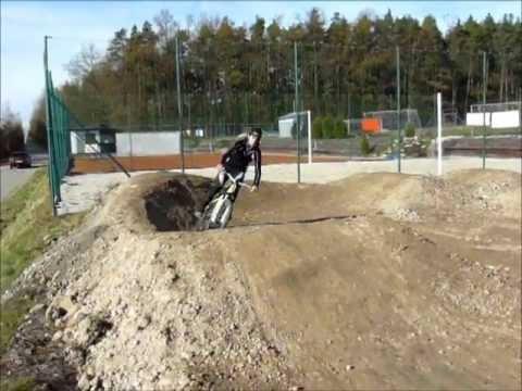 Pumptrack Mokre test ride