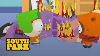 "LET'S PLAY FIREMAN!!  Watch Trent Boyett take revenge on the boys in the classic episode ""Pre-School"".   Stream full episodes of South Park for free here: http://southpark.cc.com/"