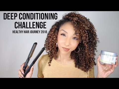 Deep Conditioning Challenge + Your Healthy Hair Journey 2018! | BiancaReneeToday