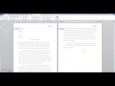 How to Properly MLA Format a Research Paper with Word 2010