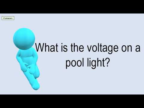 What Is The Voltage On A Pool Light