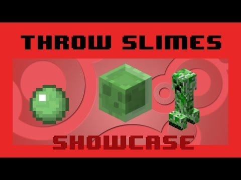 Throw Slimes using Slimeballs