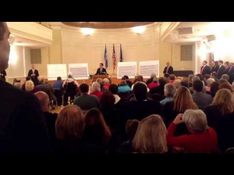 Governor Malloy in Milford, CT says you can buy guns online without a Background Check. 03/05/2014