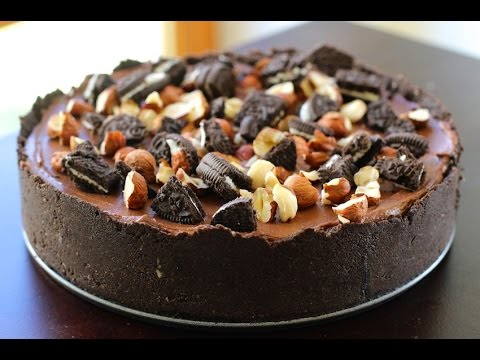 No-Bake Oreo Nutella Cheesecake Recipe - Hot Chocolate Hits