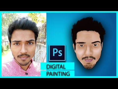 Photoshop Tutorial: Learn Digital Painting In HINDI