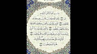القران الكريم الجزء الاول بصوت الشيخ عبدالرحمن السديس