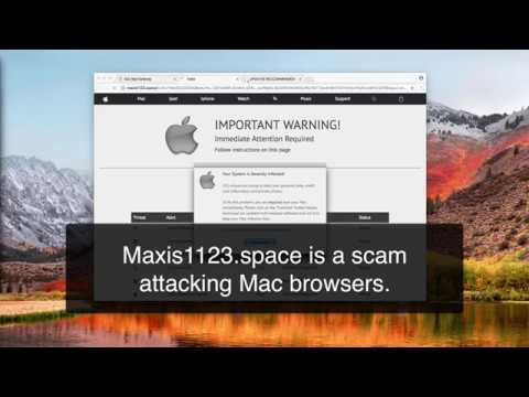 Maxis1123.space online scam (removal guide).