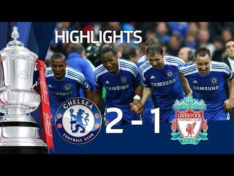 Chelsea 2-1 Liverpool - Official Goals & Highlights - FA Cup Final 5/05/12   FATV