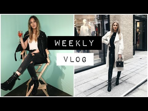 WEEKLY VLOG | BLOGGER EVENTS, WEIRD MUSEUMS & MAKEUP HAUL