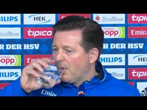 HSV-Trainer Christian Titz warnt vor Schalke und schwärmt von Papadopoulos