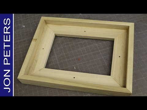How to Make a Float Frame without a Table Saw
