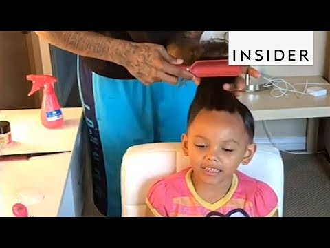 Father Daughter Duo Creates the Cutest Hair Tutorials