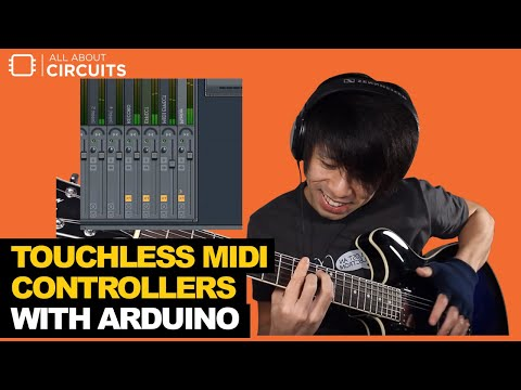 Build a Touchless MIDI Controller with an Arduino