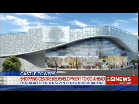Nine News Sydney: Castle Towers expansion approved (2/9/2014)