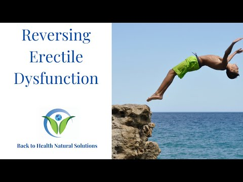 How To Reverse Erectile Dysfunction Naturally