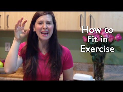 How to Fit in Exercise on Busy and Tiring Days