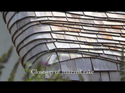 Roofing with Cedar Shingles - Beauty & Art of Wave-Coursed Roof