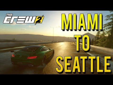 MIAMI TO SEATTLE FULL CRUISE | The Crew 2