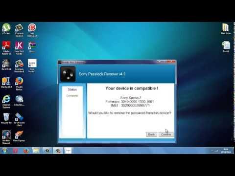 Bypass Sony Xperia Password / Lock Screen (Z1,Z,Z Ultra,SP,S,M,E,J,T,M2,E1)