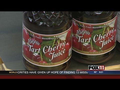 Cherry juice benefits