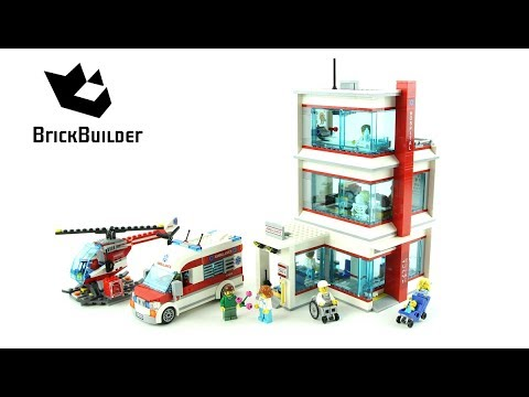 Lego City 60204 City Hospital - Lego Speed Build