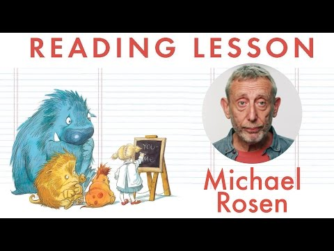 Reading Lesson - A Great Big Cuddle - Kids' Poems and Stories With Michael Rosen